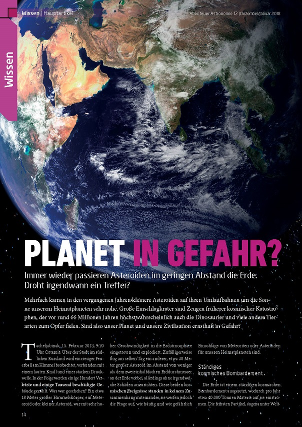 Planet in Gefahr